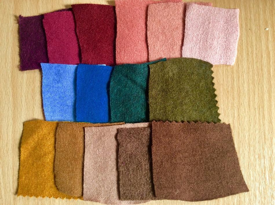 Новые ткани на осень