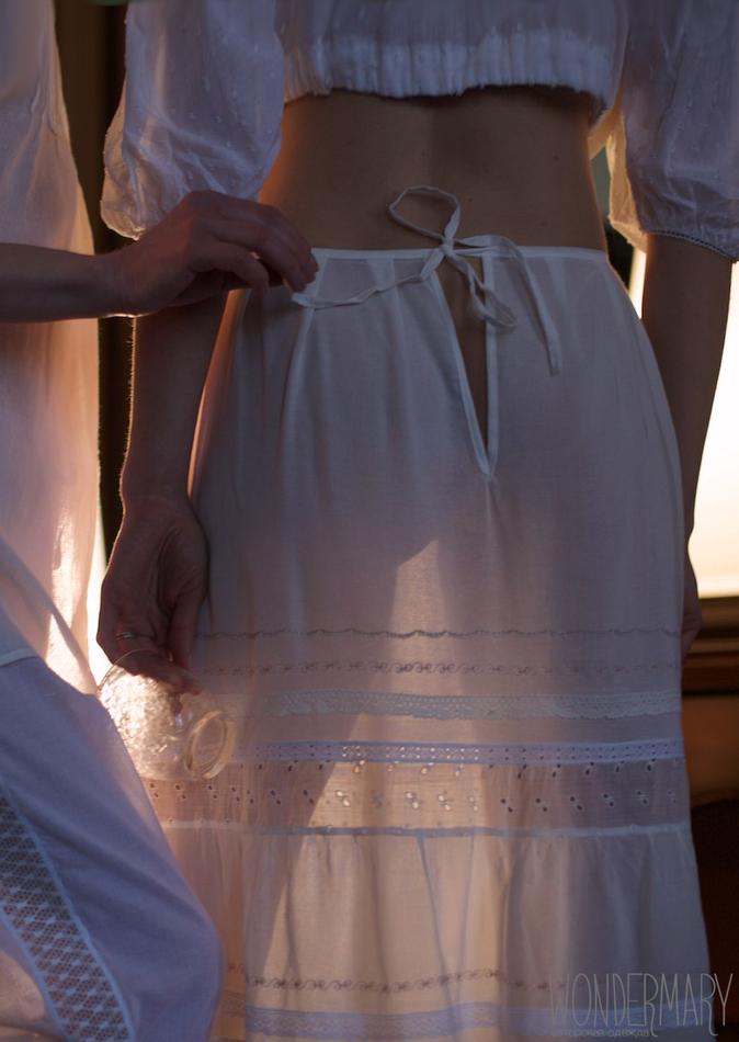 Нижняя юбка из вуали