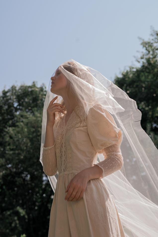 """Бохо платье """"Невеста из итальянской деревушки""""."""