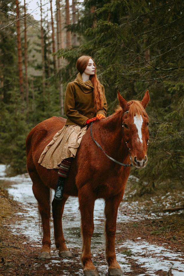 """Жакет-пальто """"Кукушкин лен"""". Коллекция """"Ваше Лисичество"""" №15"""