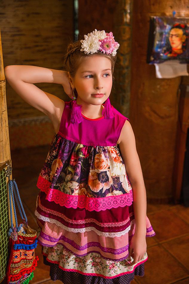 """Платье """"Ночные пионы"""". Коллекция """"Цветы жизни""""№1."""
