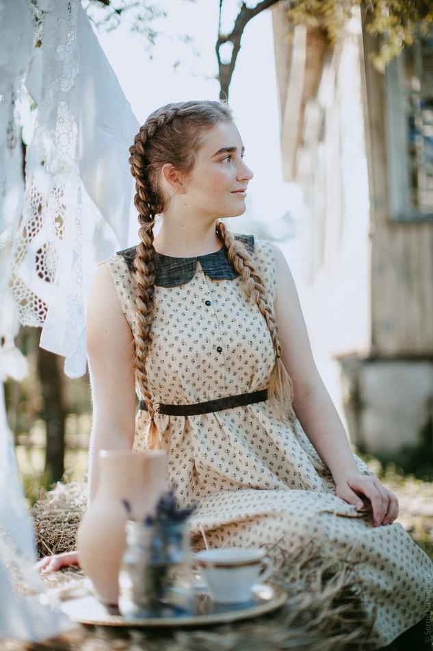 "Платье ""Пчелки"". Коллекция ""Хюгге"" №36."