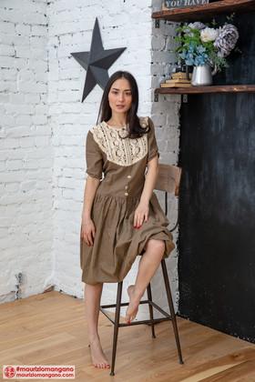 """Платье """"Жаворонок"""". Коллекция """"Хюгге"""" №30"""