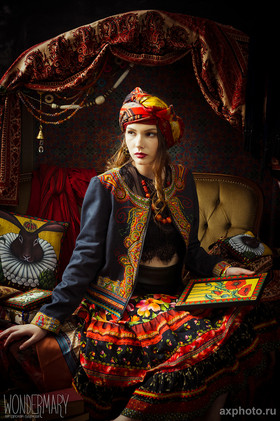 "Куртка-жакет ""Чешская Богемия"". Коллекция ""Gypsy Queen"""