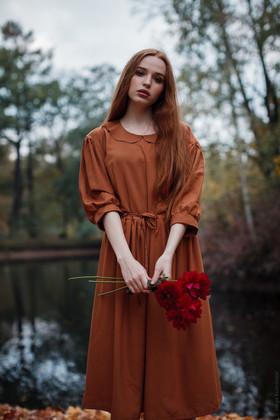 """Платье """"Медовая карамель"""". Коллекция """"Ваше Лисичество"""" №17"""