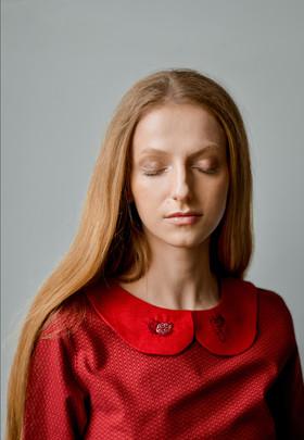 """Платье """"Гранатик"""". Коллекция """"Хюгге"""" №21"""