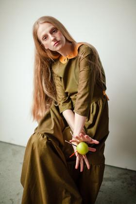 """Платье """"Лесная птичка"""". Коллекция """"Хюгге"""" №23"""