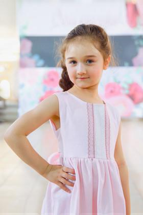 """Платье """"Бело-розовый зефир"""". Коллекция """"Цветы жизни"""" №5."""