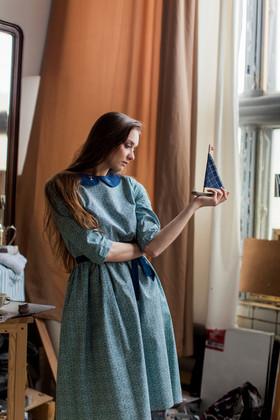 """Платье """"Смотрительница Маяка"""". Коллекция """"Хюгге"""" №22."""