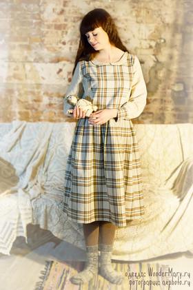 """Платье """"Хюгге"""" взрослое. Коллекция """"Хюгге"""" №6"""