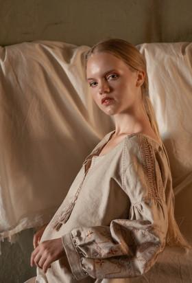 "Рубаха-вышиванка льняная. Коллекция ""Gypsy Queen"""