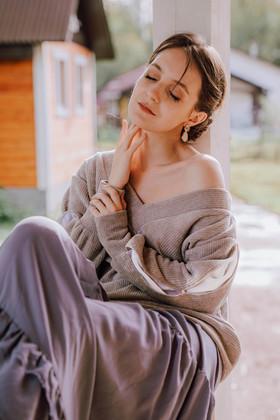 """Пушистый пуловер а-ля вязаный серый. Коллекция """"Игра цвета"""" №12"""