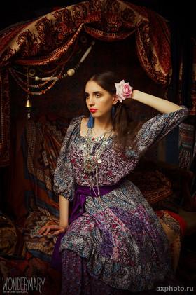 """Блузка из комплекта """"Цветок диких полей"""". Коллекция """"Gypsy Queen"""""""